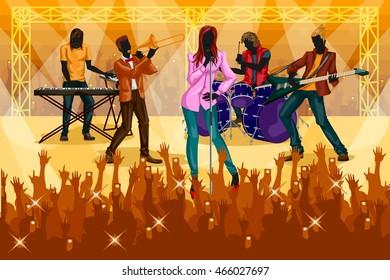 Vectors Audience Guitarist Images, Stock Photos & Vectors ...