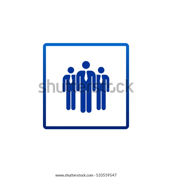 Group of people  Vector.