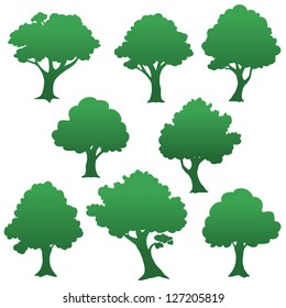 a group of trees