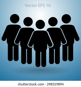group vector icon