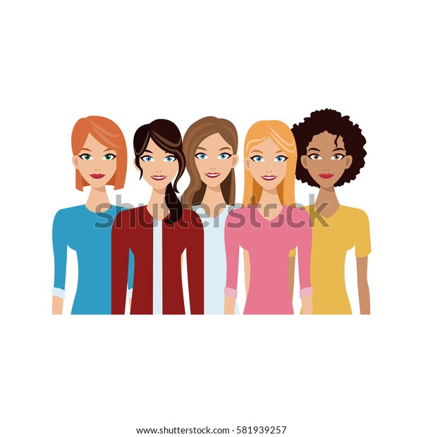 group of women icon