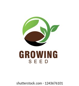 growing seed logo