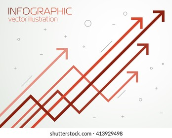 Growth charts, vector