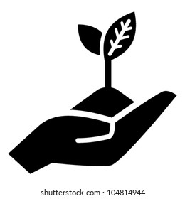 Growth concept vector icon