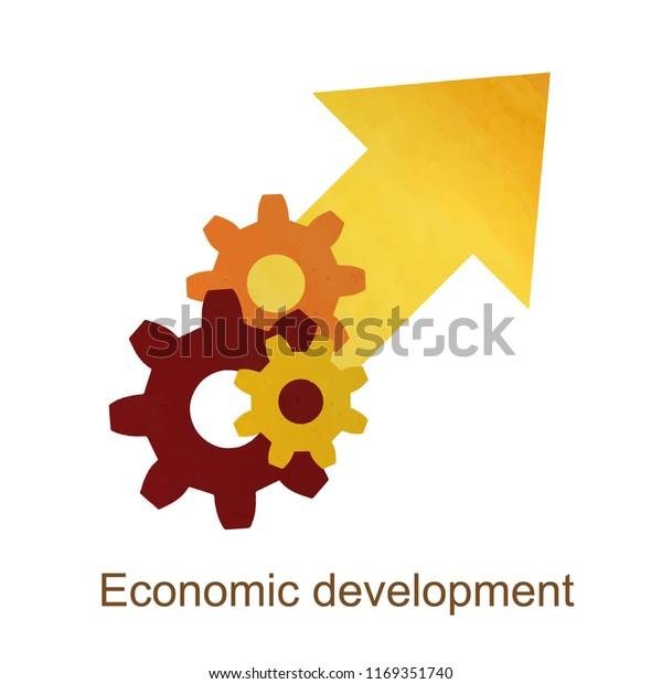 Growth Economic Development Concept Economic Expansion