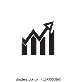 Growth Icon Design Vector Template