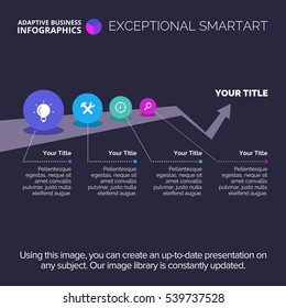 Growth Infographic Diagram Template