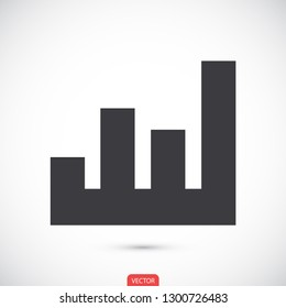 growth vector icon 10 eps