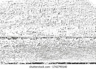 Grunge background texture vector. Overlay distress grainy grungy effect. Distressed  textural backdrop vector illustration. Isolated black on white background. For abstract  dotted, scratched noise.