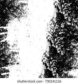 Grunge background vector black and white texture abstract