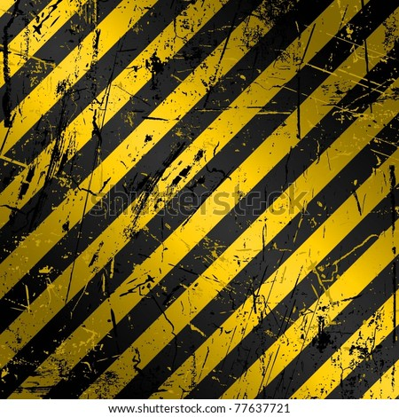 grunge background yellow black stripes stock vector royalty free