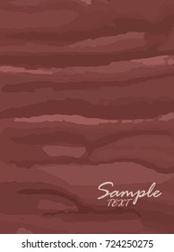 Grunge banner brown vertical. For your design. Vector.