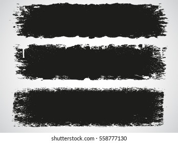 Grunge banners.Abstract vector illustration.