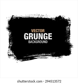 grunge black background, vector