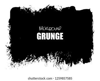 Grunge black background.Monochrome artistic hand drawn background.