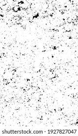 Grunge black lines and dots on a white background - Vector illustration
