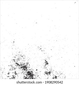 grunge black and white ink splats.abstract background illustration.Vector Eps10