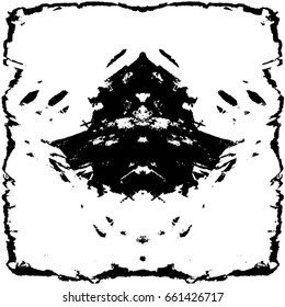 Grunge Black White Urban Vector Texture Stock Vector Royalty Free