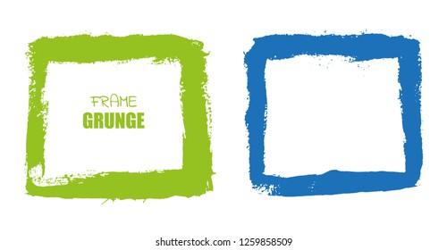 Grunge border frames.Grunge backgrounds.