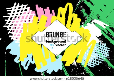 Hip hop music graphic design. Tropic background. Urban wallpaper. Abstract
