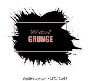 Grunge brush stroke background