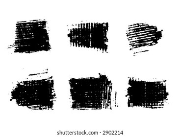 Grunge Brushes for Photoshop and raster software