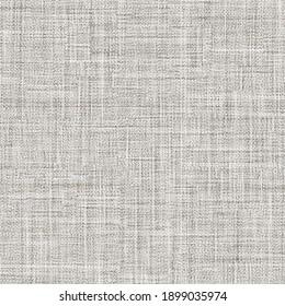 Grunge canvas texture. Old cotton cloth. Gray textured background.