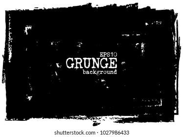 Grunge chalkboard background . Vector .