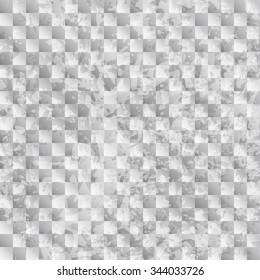 Grunge checkered seamless pattern