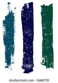 Grunge elements - Grunge Lines 4 - Highly Detailed vector grunge elements