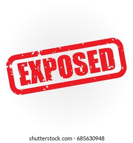Grunge Exposed Label