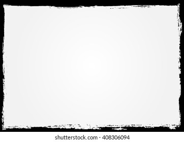 Grunge Frame. Grunge Background. Abstract Vector Template.