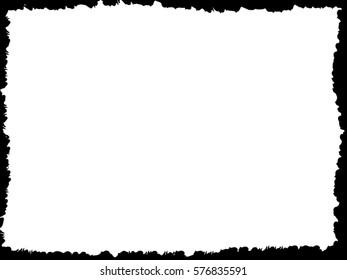 Grunge Frame. Vector Illustration.