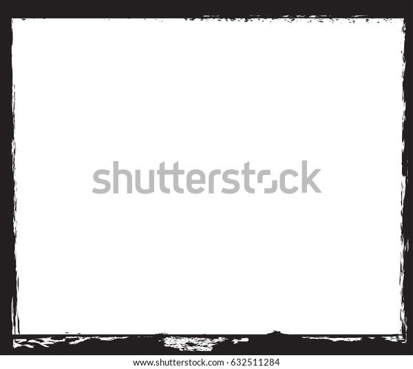 Grunge Frame.Distressed Background.