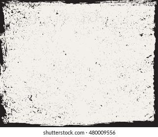 Grunge frame.Vector grunge background.