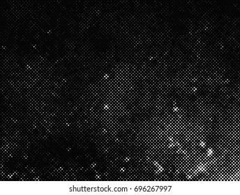 Grunge halftone background.Distress overlay dots texture.Halftone vector texture.