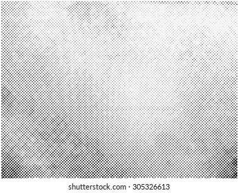 Grunge halftone vector background.Halftone dots vector texture.