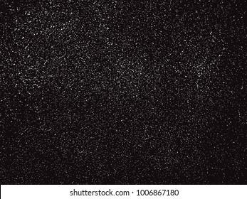 Grunge overlay texture.Vector monochrome background.