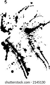 grunge paint splashes blots pattern