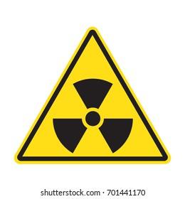 Grunge Radiation sign