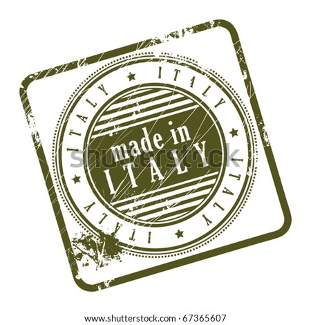 10e133a562 Royalty-free stock vector images ID  67365607. Grunge rubber stamp made in  Italy