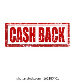 Grunge rubber stamp with text Cash Back,vector illustration