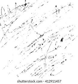 grunge sketch effect texture, scratched plate distressed textured and background, vector design element