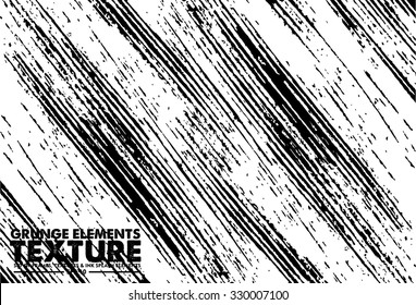 Grunge stripe texture background - abstract isolated stock vector template - easy to use