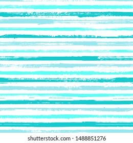 Grunge stripes seamless vector background pattern. Ink paint lines textured background. Dry paintbrush stripes grunge backdrop print design. T-shirt fashion line pattern. Decorative retro chevron.