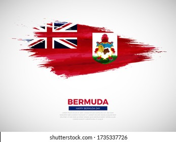 Graphics /& More c-Bermuda National Country Flag White