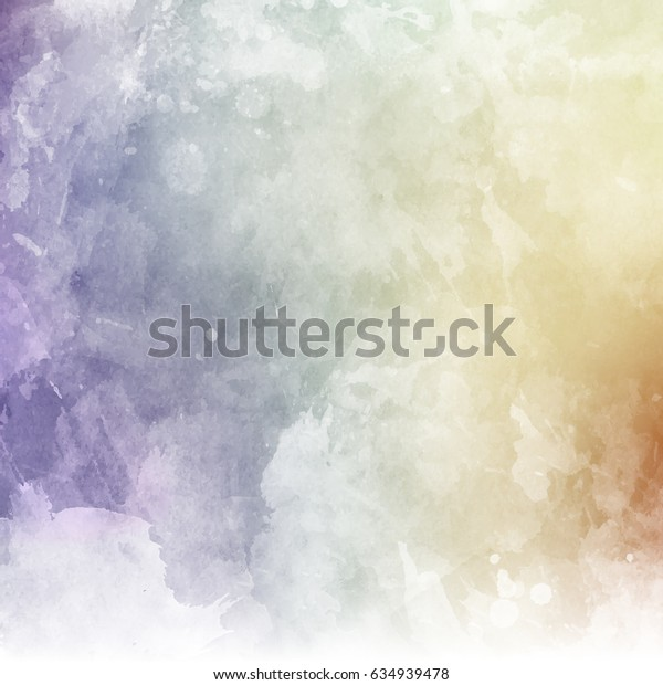 Grunge texture background with watercolor design