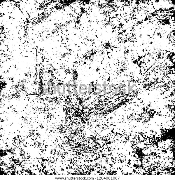 Grunge Texture Black White Stock Vector (Royalty Free) 1204081087