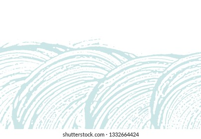 Grunge texture. Distress blue rough trace. Classic background. Noise dirty grunge texture. Superb artistic surface. Vector illustration.