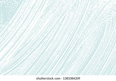 Grunge texture. Distress blue rough trace. Creative background. Noise dirty grunge texture. Uncommon artistic surface. Vector illustration.